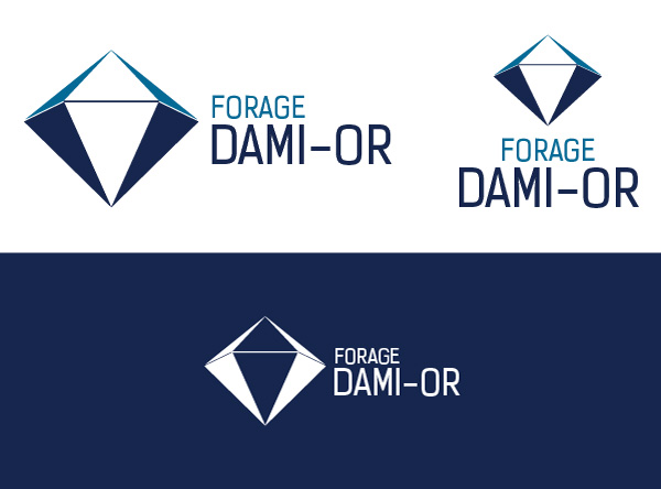 Signature graphique de Forage Dami-Or